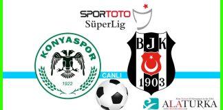 Atiker Konyaspor - Besiktas macini canli izle