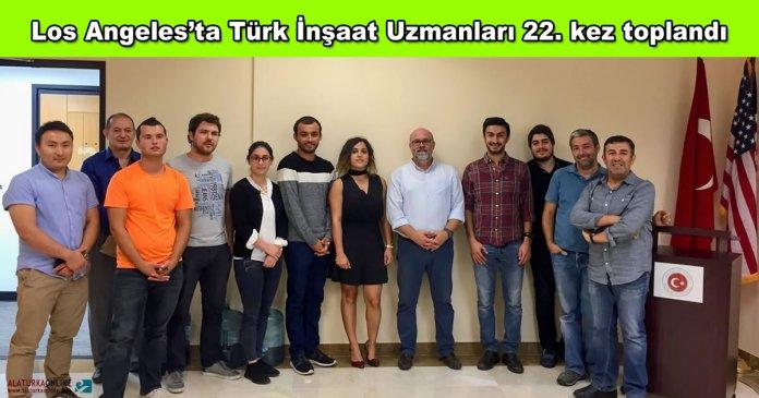 Los Angeles Turk Insaat Uzmanlari Bulusma 22