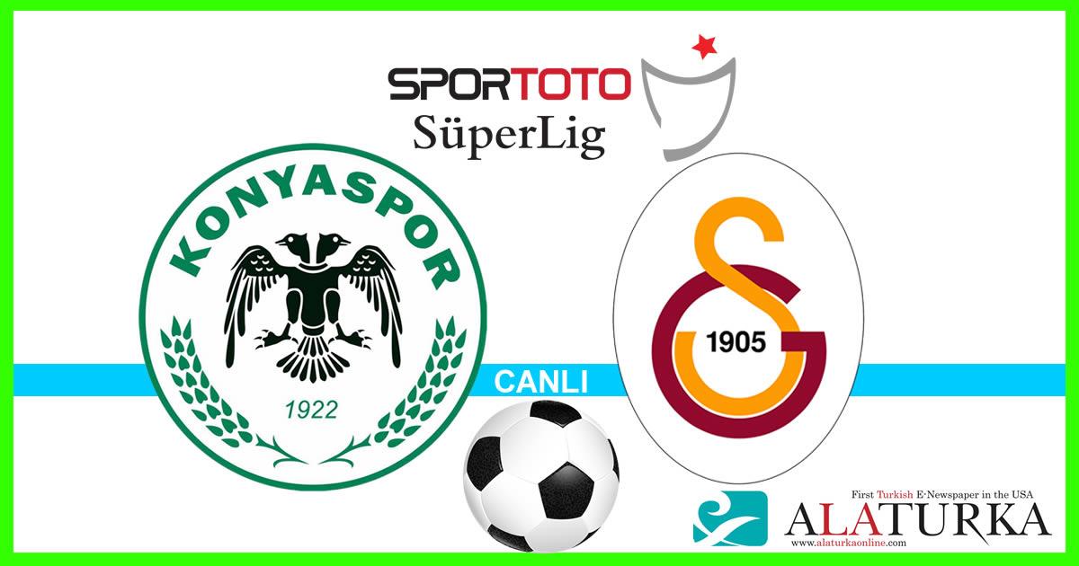 Konyaspor – Galatasaray maçını canlı izle