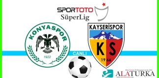 Konyaspor - Kayserispor macini canli izle