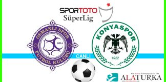 Osmanlispor - Konyaspor macini canli izle