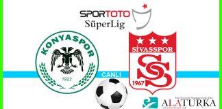 Konyaspor - Sivasspor macini canli izle