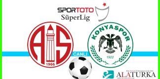 Antalyaspor - Konyaspor macini canli izle
