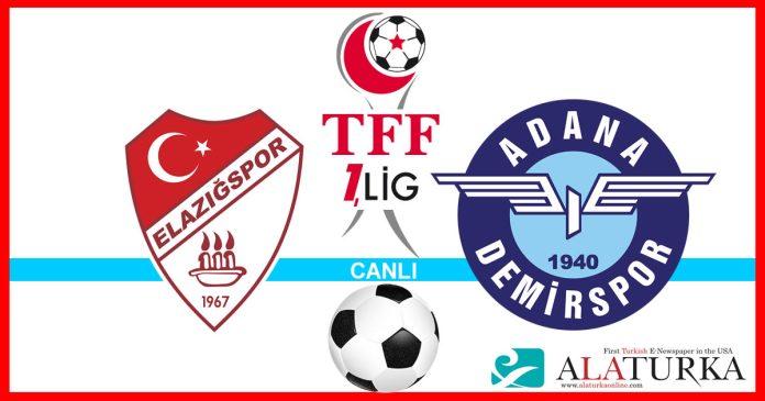 Elazigspor - Adana Demirspor macini canli izle