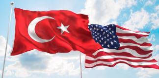 Turkiye Amerika Bayraklari