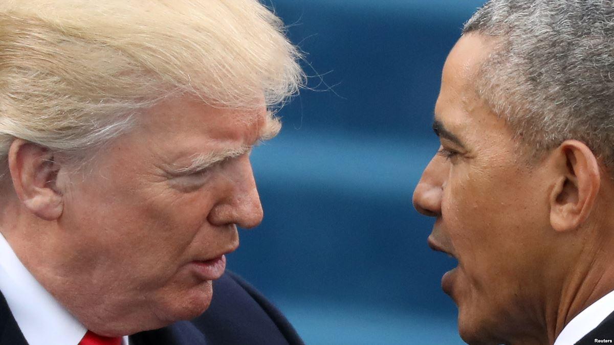 Trump Yine Obama'ya Yüklendi