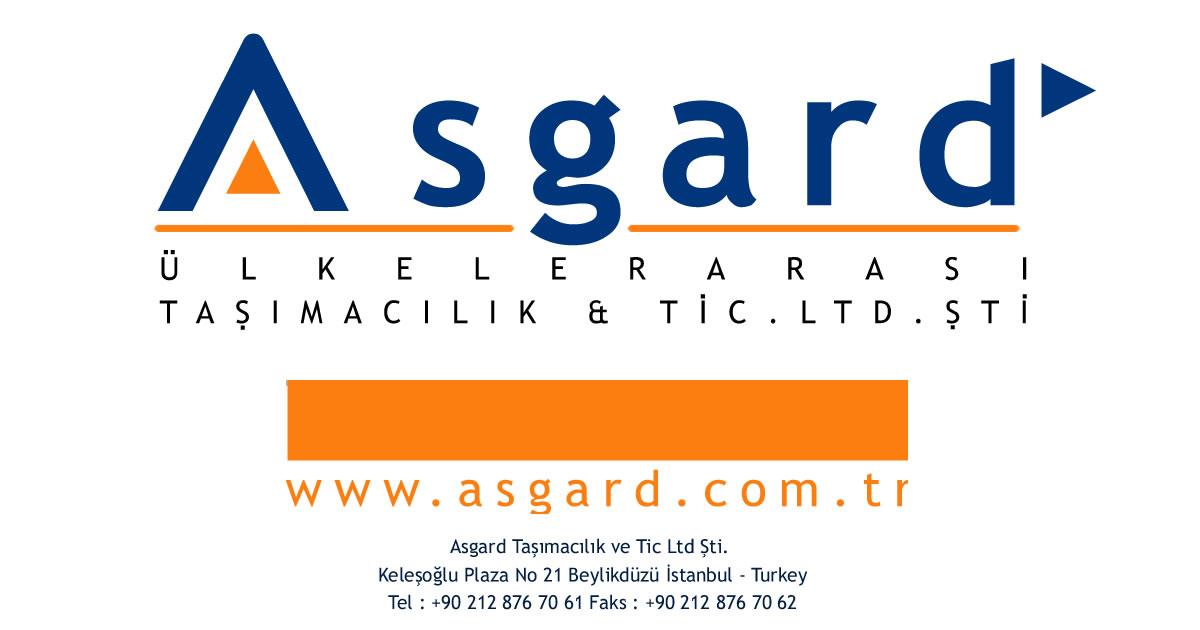 Asgard Taşımacılık – Transport & Logistics