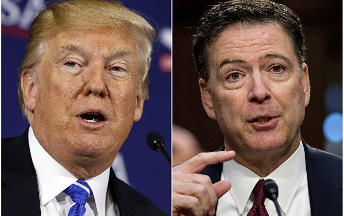 Eski FBI Direktörü Comey: Trump, Başkan olmak için ahlaken uygun değil