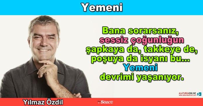 Yemeni - Yilmaz Ozdil