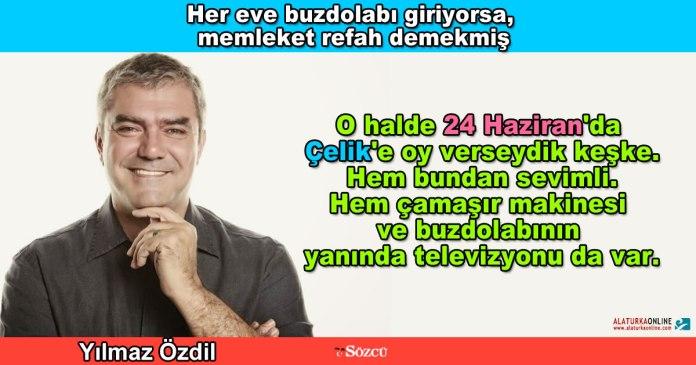 Buzdolabi Refahtir - Yilmaz Ozdil
