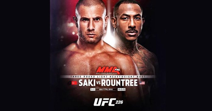 Gokhan Saki - Khalil Rountree - Las Vegas UFC 226