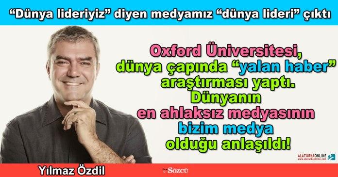 Dunyanin En Ahlaksiz Meydasi - Yilmaz Ozdil