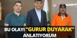 Temizlik Gorevlisi Mehmet Kocaslan