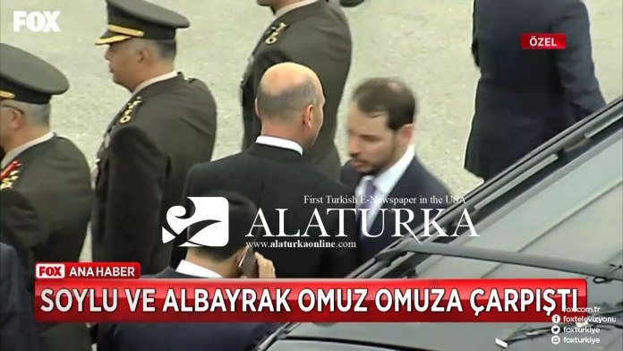 Suleyman Soylu Berat Albayrak Omut Atti Anitkabir