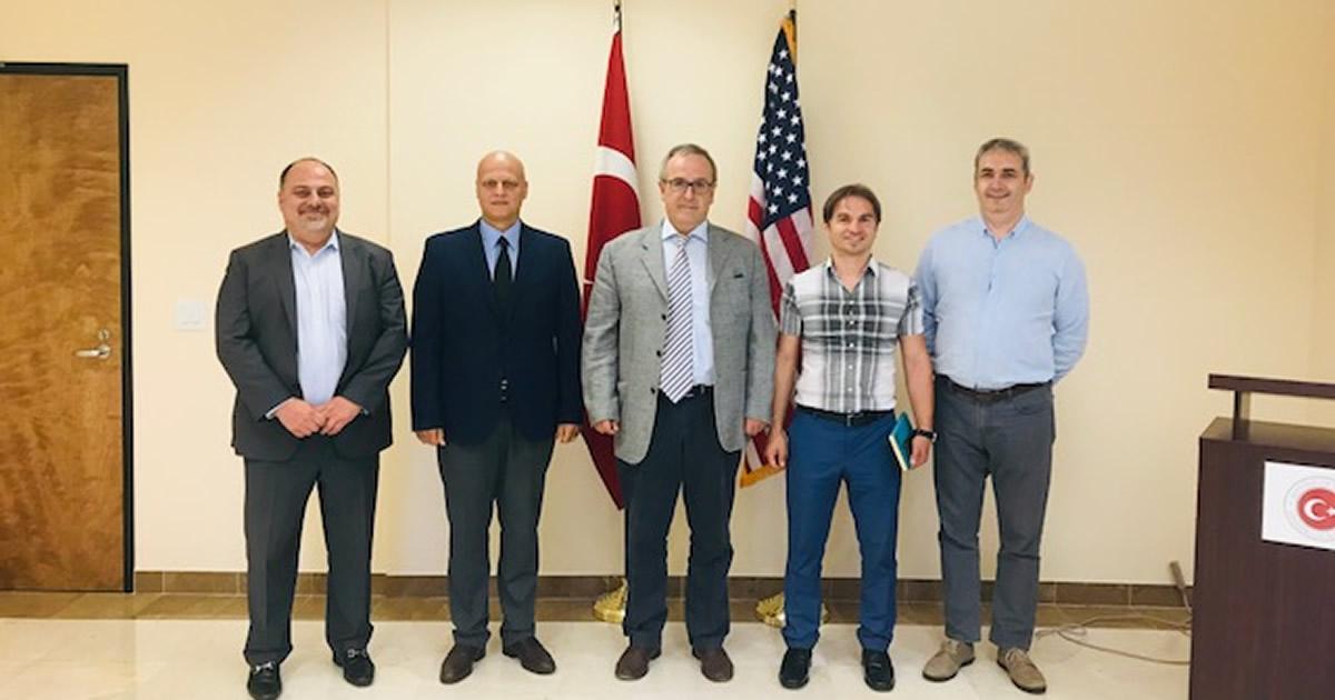 Türk Amerikan Ticaret Odası'ndan Los Angeles Ticaret Ateşelerine Hoşgeldin Ziyareti