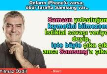 iphone samsung - Yilmaz Ozdil