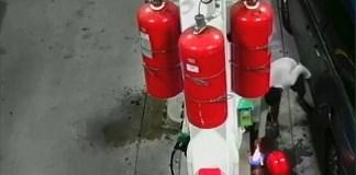 New York Benzin istasyonuna Kundaklama