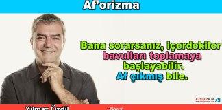 Aforizma - Yilmaz Ozdil