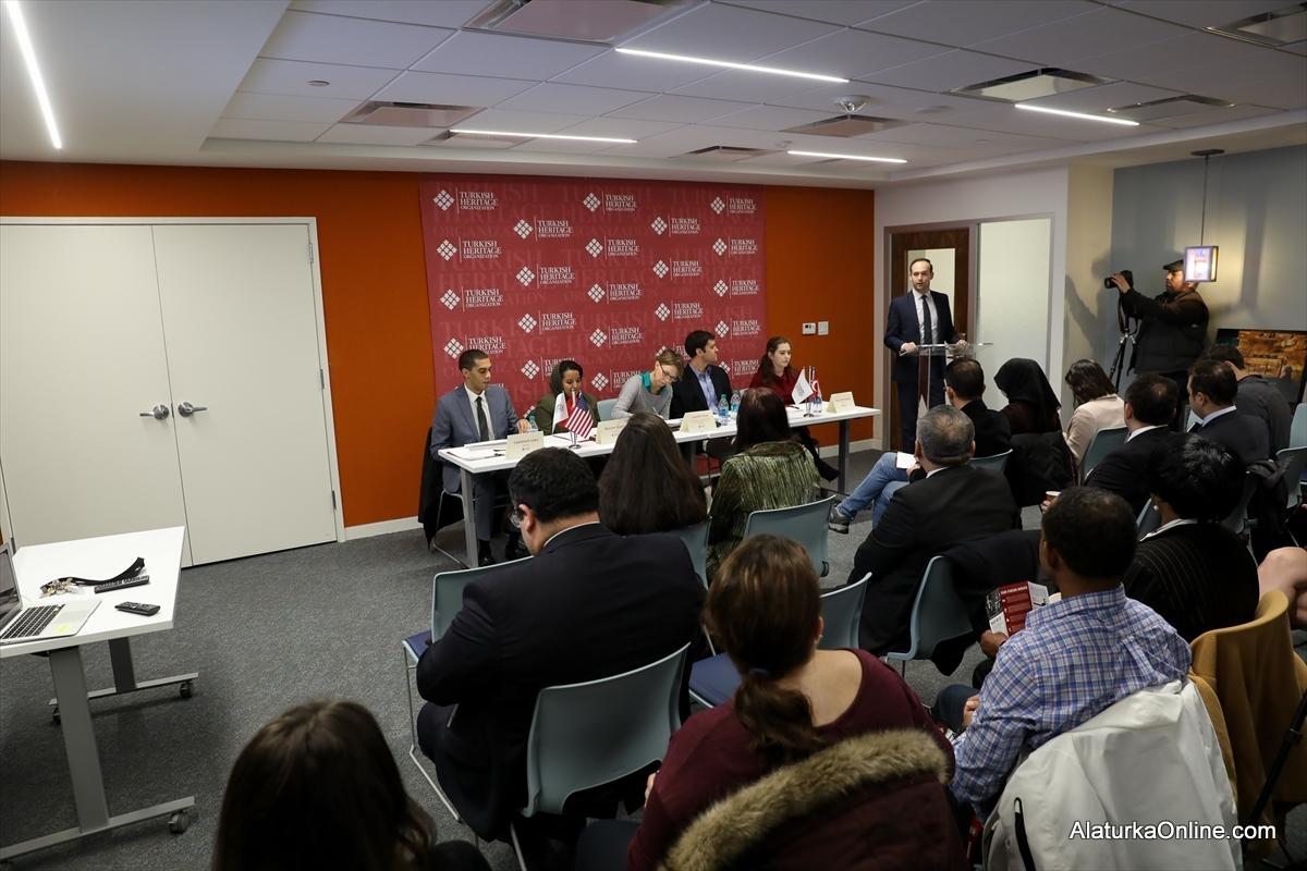 """Washington'da """"Mülteciler ve Türkiye"""" paneli"""