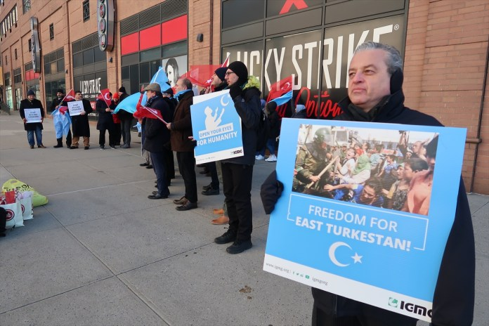 New York Dogu Turkistan Protestosu (1)