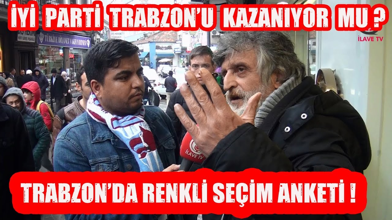 Trabzon Renkli Yerel Seçim Anketi (Mutlaka İzleyin )
