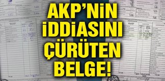 AKP Iddiasini Curuten Belge