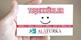 Tesekkurler Turkiye En Cok Takip Edilen Siteler Alaturka Online