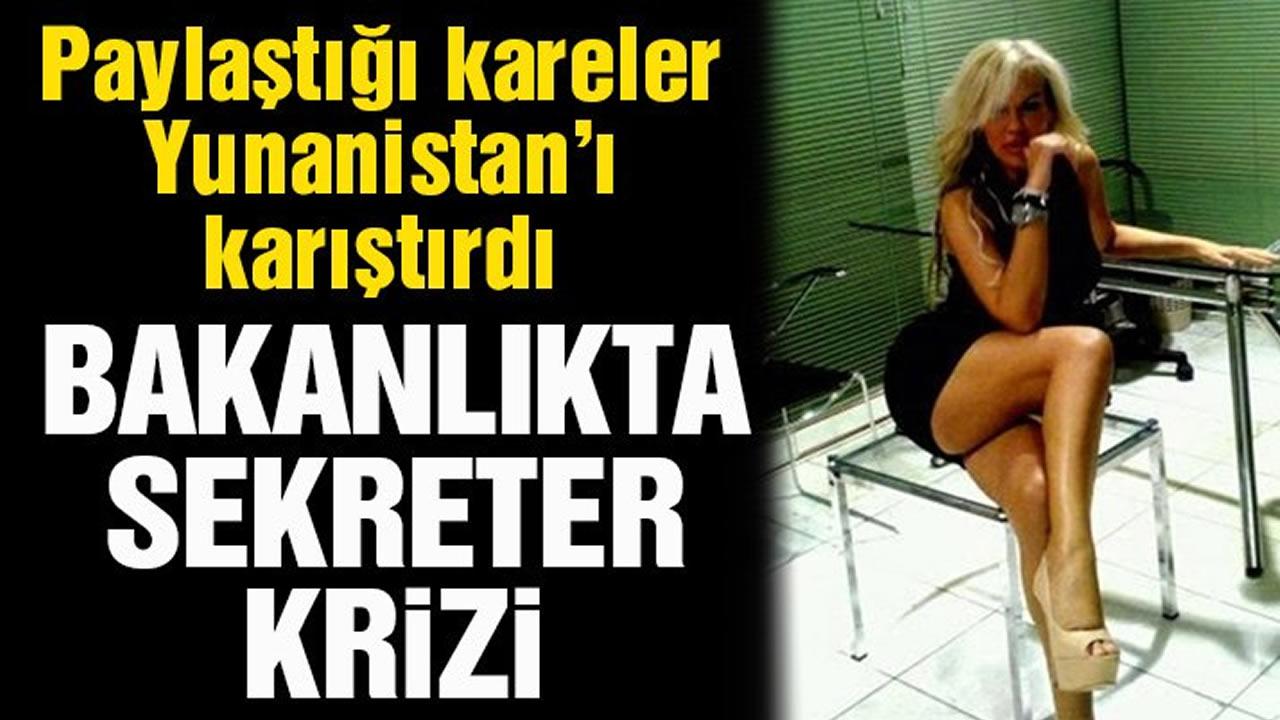 Paylaştığı Kareler Yunanistan'ı Karıştırdı ! Bakanlıkta Sekreter Krizi