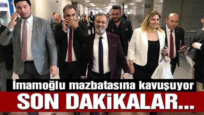 Imamoglu Mazbatasina Kavusuyor