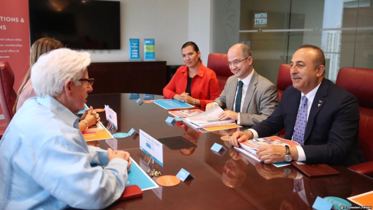 Dışişleri Bakanı Çavuşoğlu Miami'de