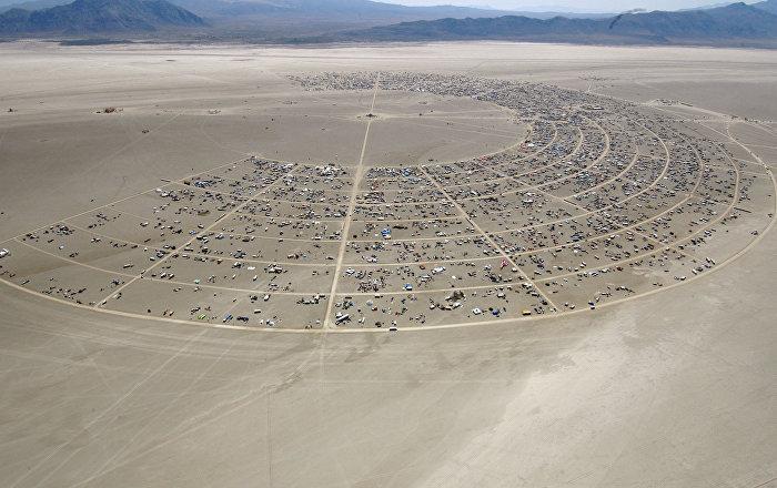Trump duvardan vazgeçmiyor, şimdiki hedefi dünyaca ünlü Burning Man Festivali