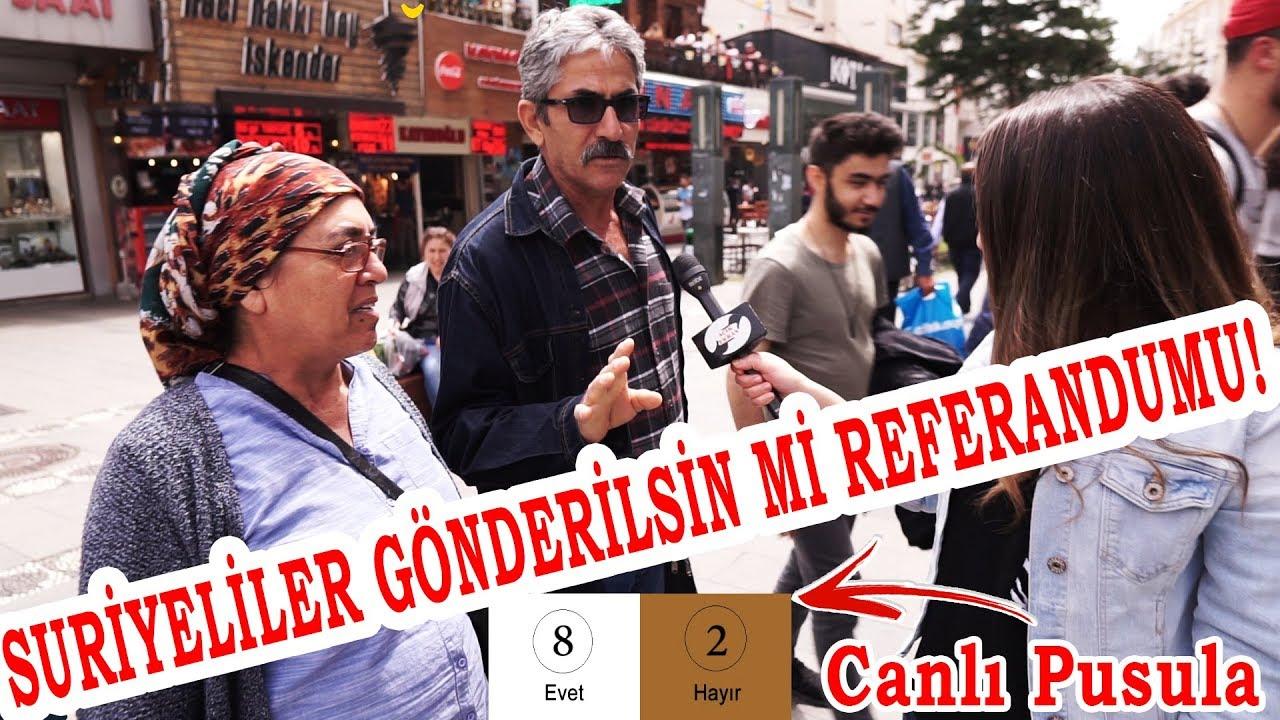 Suriyeliler Gönderilsin Mi Referandumu !