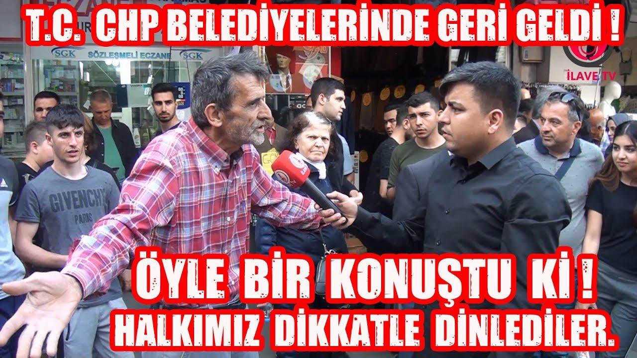T.C. İbaresi CHP Belediyelerinde Geri Geldi ! Halkımız Ne Diyor ?