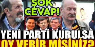 AKP Bolunuyor Yeni Parti