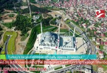 Turkey Largest Mosque Camlica