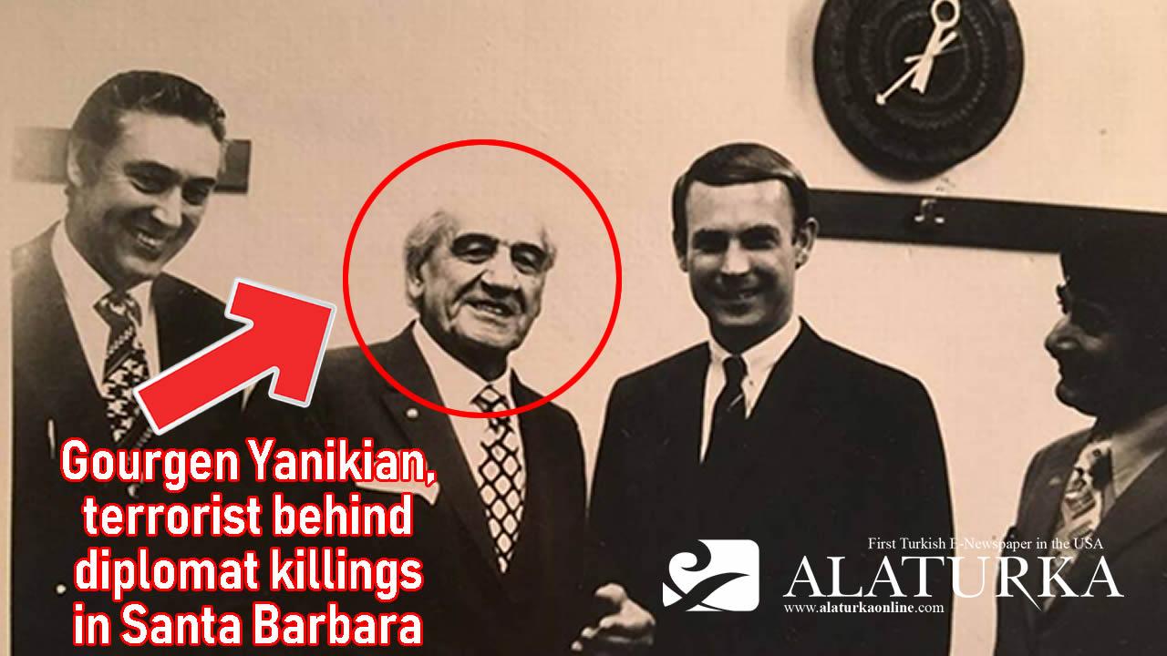 Armenia honors Gourgen Yanikian, terrorist behind diplomat killings in Santa Barbara