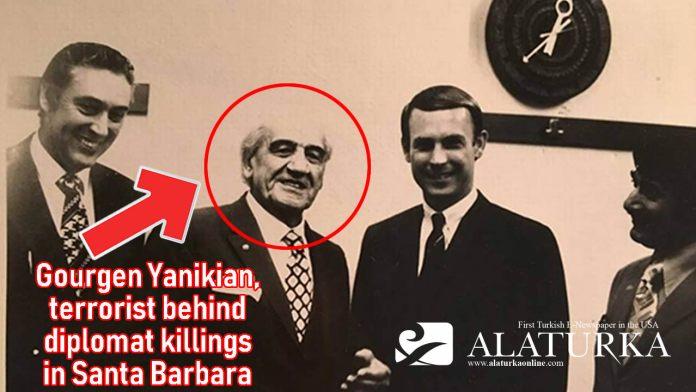 Gourgen Yanikian terrorist behind diplomat killings in Santa Barbara