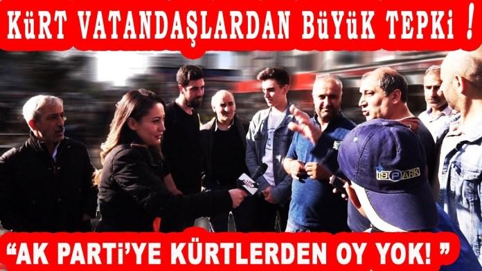 Esenyurt Kurt Vatandaslar Kime Oy Verecek AKP Buyuk Tepki