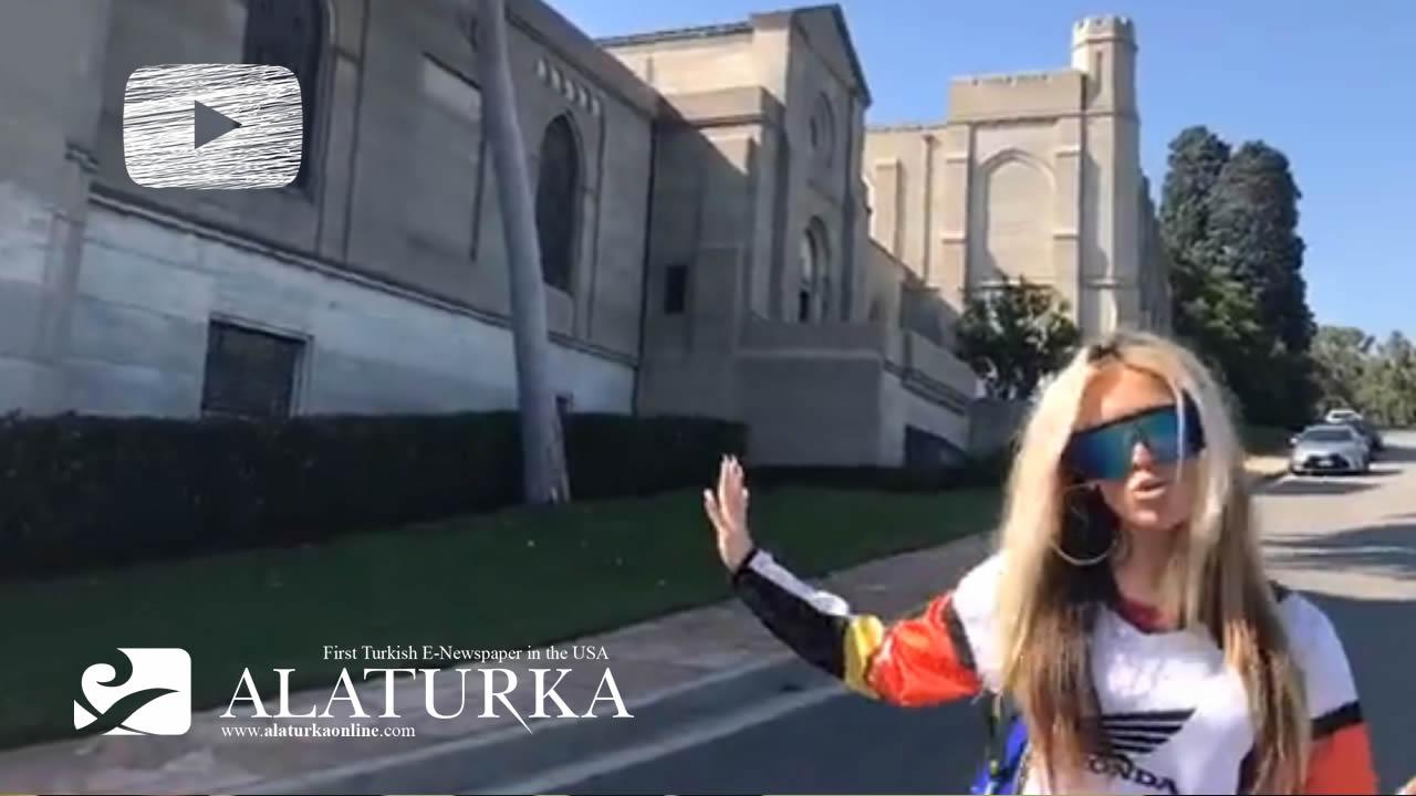 Hollywood Starlarının ve Ünlülerin Mezarlığına Ziyaret