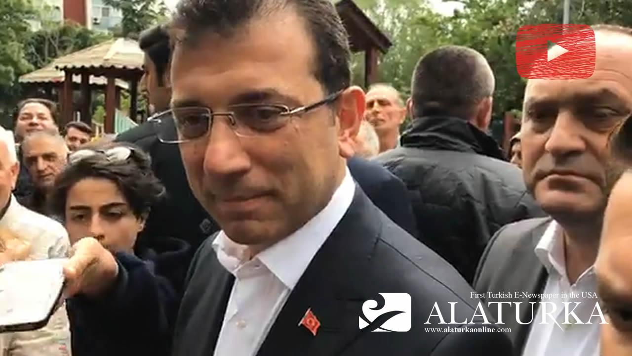 Ekrem İmamoğlu Gündemle ilgili gazetecilerin sorularını yanıtladı – 17 Mayıs 2019