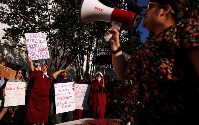 ABD'de bu kez Alabama eyaletinde kürtajı yasaklayan tasarı kabul edildi