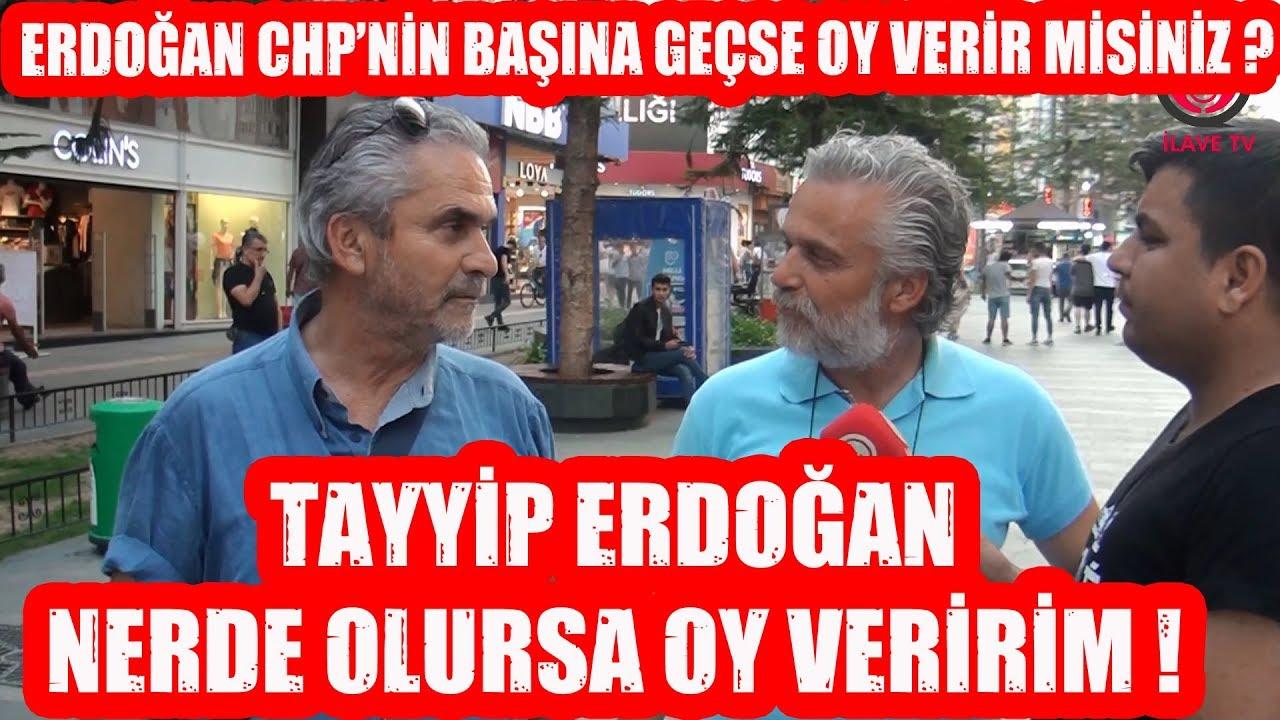 CB. Erdoğan CHP'nin Başına Geçerse Oy Verir Misiniz ?
