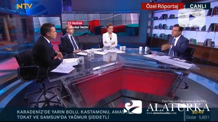 Ekrem Imamoglu NTV Star Ortak Yayin