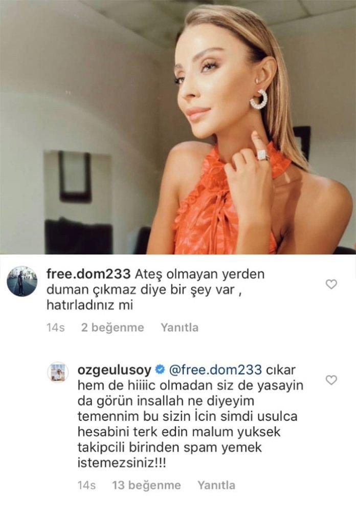 Ozge Ulusoy Berat Albayrak Aciklamasi
