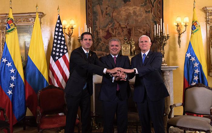 ABD, Kolombiya'daki büyükelçiliği bünyesinde 'Venezüella Birimi' kurdu