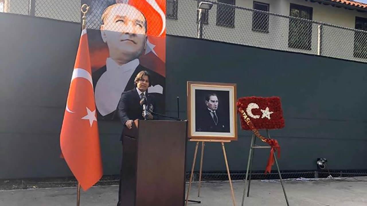 Büyük Önder Atatürk, Los Angeles'ta anıldı