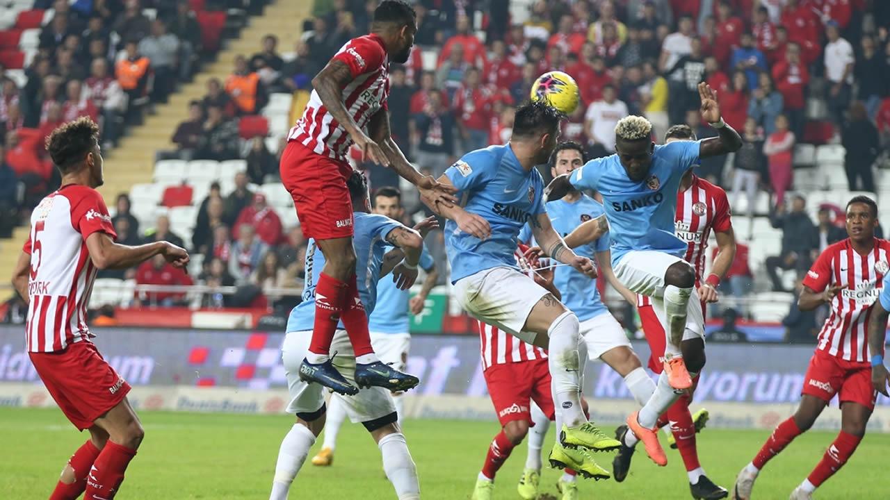 Antalyaspor 1 – Gaziantep 1 Maç Özeti İzle