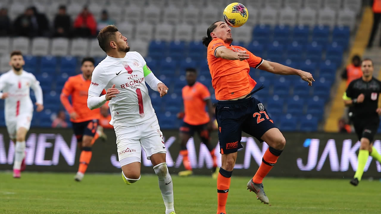 Başakşehir 2 – Antalyaspor 0 Maç Özeti İzle