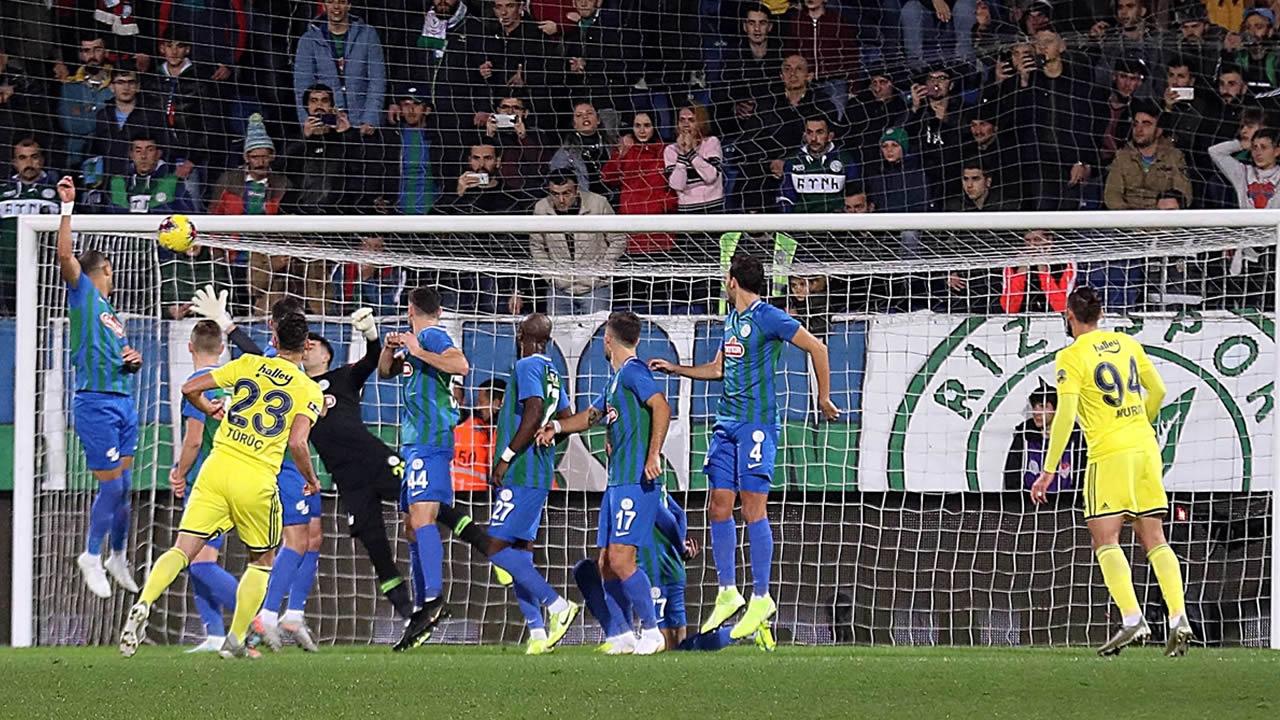 Rizespor 1 – Fenerbahçe 2 Maç Özeti İzle