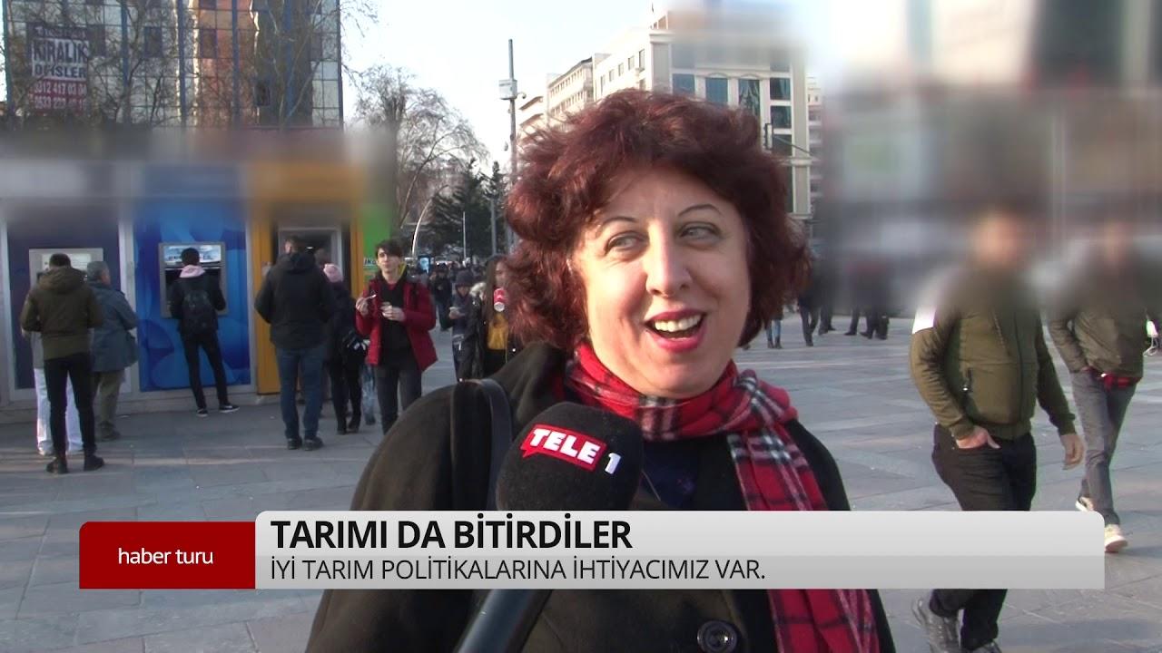 Vatandaş isyan etti: Tarımı da bitirdiler! – Tele1 Sokak Röportajları